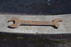 Chave oxidada Imagem de Stock Royalty Free