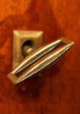 Chave retro no buraco da fechadura Imagens de Stock Royalty Free