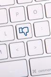 Chave social dos meios Fotos de Stock Royalty Free