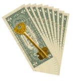 Chave a uma prosperidade Foto de Stock