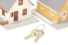 Chaves & casa Imagem de Stock