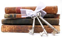 Chaves ao conhecimento Foto de Stock Royalty Free
