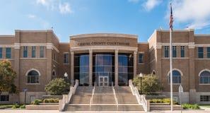 Chaves County domstolsbyggnad Arkivbilder