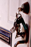 Chaves da casa Imagens de Stock Royalty Free