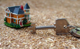 Chaves da casa de seu sonho Imagens de Stock Royalty Free
