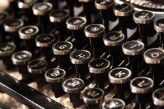 Chaves da máquina de escrever Fotografia de Stock