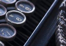 Chaves da máquina de escrever Fotos de Stock