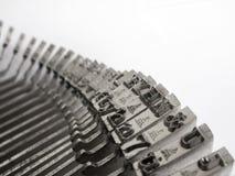 Chaves da máquina de escrever fotos de stock royalty free