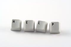 Chaves de ajuda Imagem de Stock