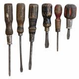 Chaves de fenda da antiguidade Foto de Stock