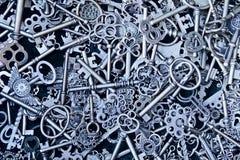 Chaves de Steampunk Imagem de Stock