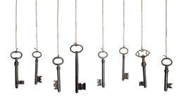 Chaves de suspensão (XXXL) imagens de stock