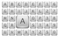 Chaves de teclado Fotos de Stock