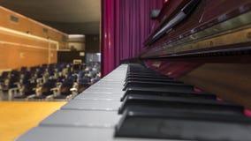 Chaves de um piano de cauda Imagem de Stock