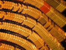 Chaves do órgão de tubulação Fotos de Stock