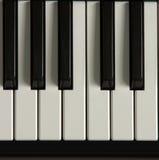 Chaves do piano Imagem de Stock