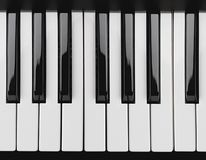 Chaves do piano Imagens de Stock Royalty Free