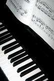 Chaves do piano Fotos de Stock
