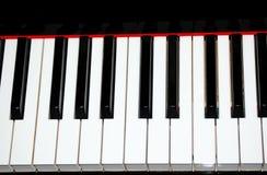 Chaves do piano Imagens de Stock Royalty Free