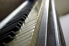 Chaves do piano Fotos de Stock Royalty Free