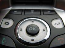 Chaves do telefone de pilha Imagem de Stock