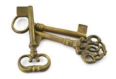 Chaves douradas Imagens de Stock
