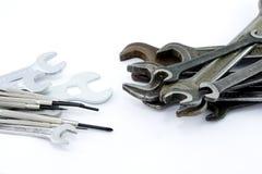 Chaves e chaves de fenda Fotos de Stock Royalty Free