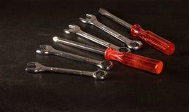 Chaves e chaves de fenda Imagem de Stock