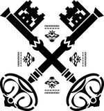 Chaves medievais Imagem de Stock Royalty Free