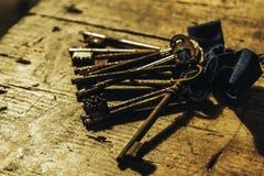 Chaves oxidadas Imagens de Stock Royalty Free