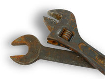 Chaves oxidadas Fotografia de Stock Royalty Free