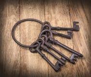Chaves oxidadas velhas Imagem de Stock