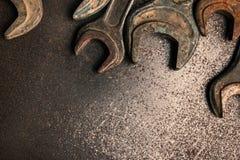 Chaves oxidadas velhas Foto de Stock Royalty Free
