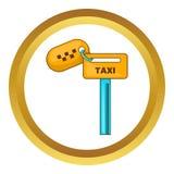 Chaves para taxi o ícone ilustração do vetor