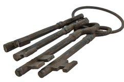 Chaves vitorianos antigas Imagem de Stock