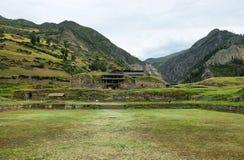 Chavin de Huantar ναός σύνθετος, Περού στοκ φωτογραφίες