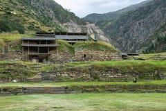 Chavin de Huantar ναός σύνθετος, Περού στοκ φωτογραφίες με δικαίωμα ελεύθερης χρήσης