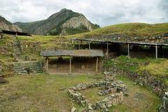 Chavin de Huantar ναός σύνθετος, Περού στοκ εικόνες με δικαίωμα ελεύθερης χρήσης