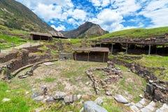Chavin De Huantar Podwórze Zdjęcie Royalty Free