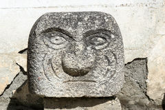 Chavin de Huantar tenon head Stock Image