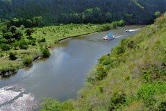 Chavon河在多米尼加共和国 库存图片