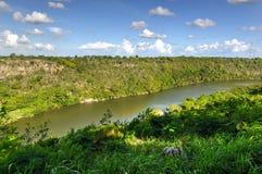 Chavon flod, Dominikanska republiken Royaltyfri Fotografi