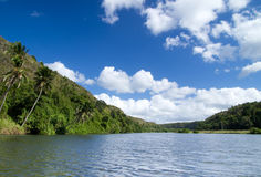 Chavon River Royalty Free Stock Photo