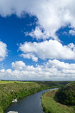 Chavon River Stock Image