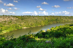 Chavon River, Dominican Republic Royalty Free Stock Photography