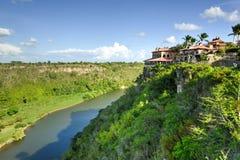 Chavon rzeka, republika dominikańska Zdjęcia Royalty Free