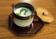 Chawamushi giapponese Fotografia Stock