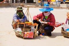 Chaweng海滩 库存照片