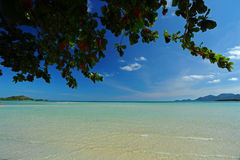 Chaweng beach Royalty Free Stock Images
