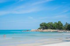 Chaweng beach landscape Stock Photos